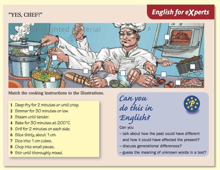 """""""Yes, Chef!"""""""