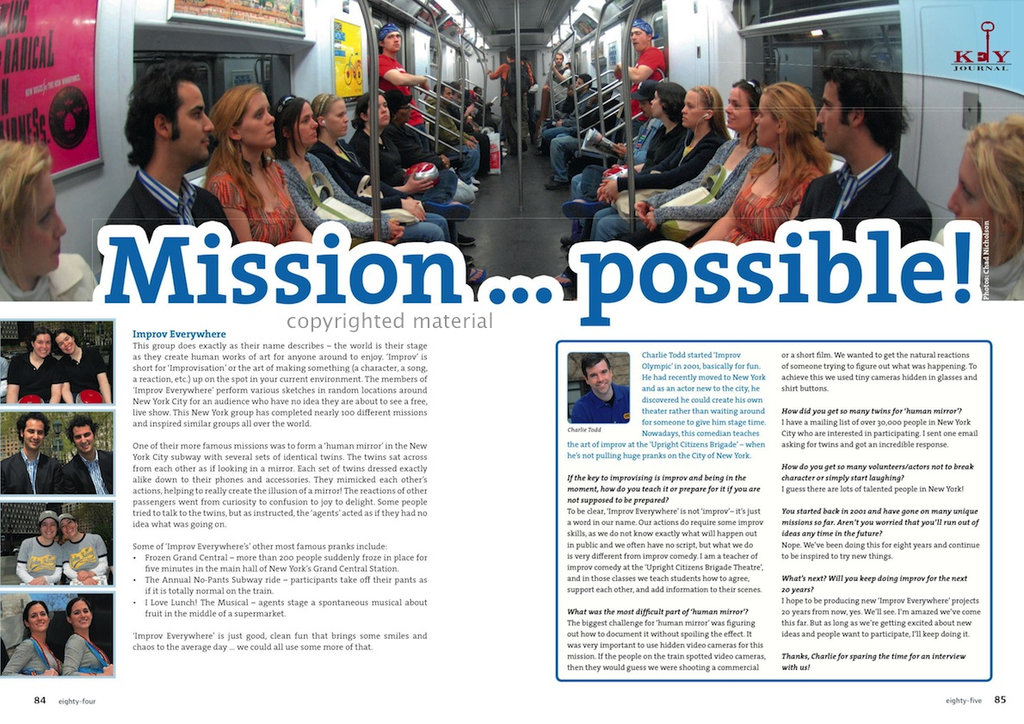 Mission ... possible